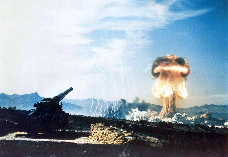 Atomic Annie - Nuclear artillery