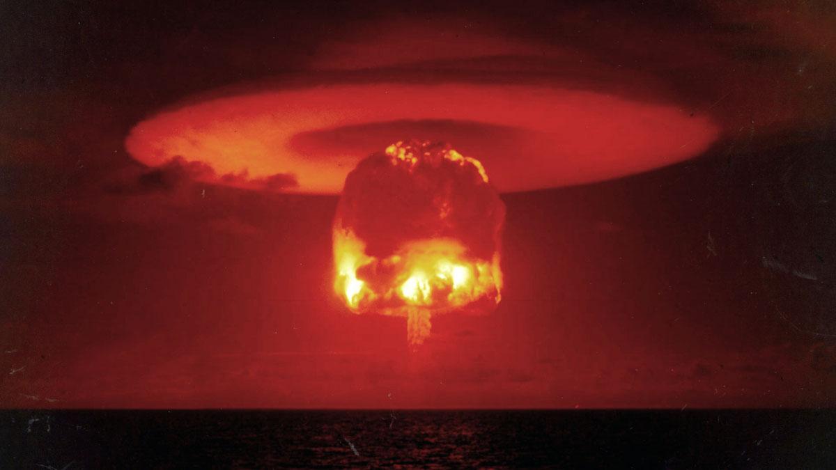 test 1952 Bikini atoll nuclear