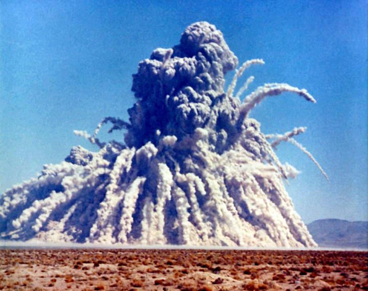 Underground nuclear explosion