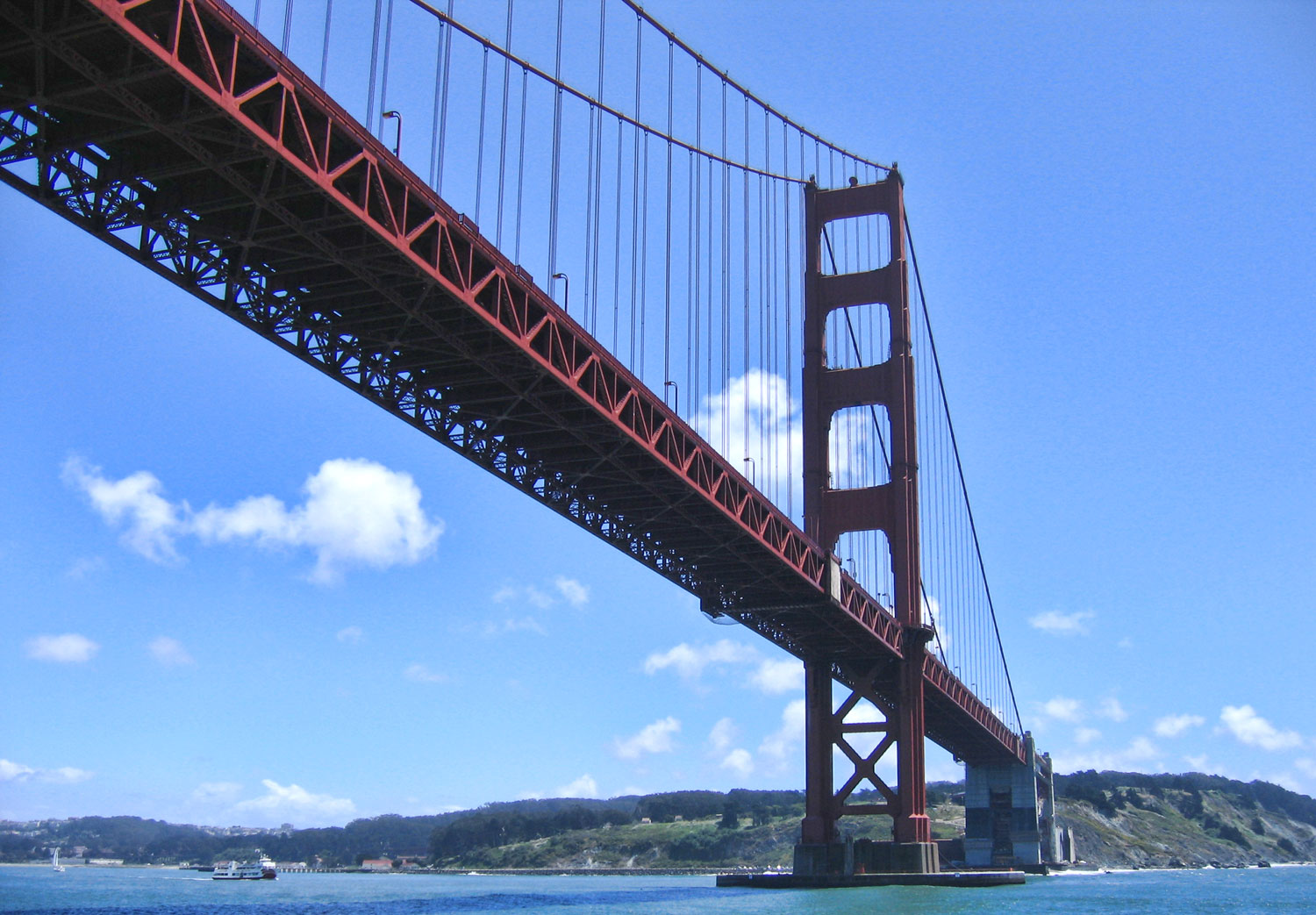 how to walk up the golden gate bridge