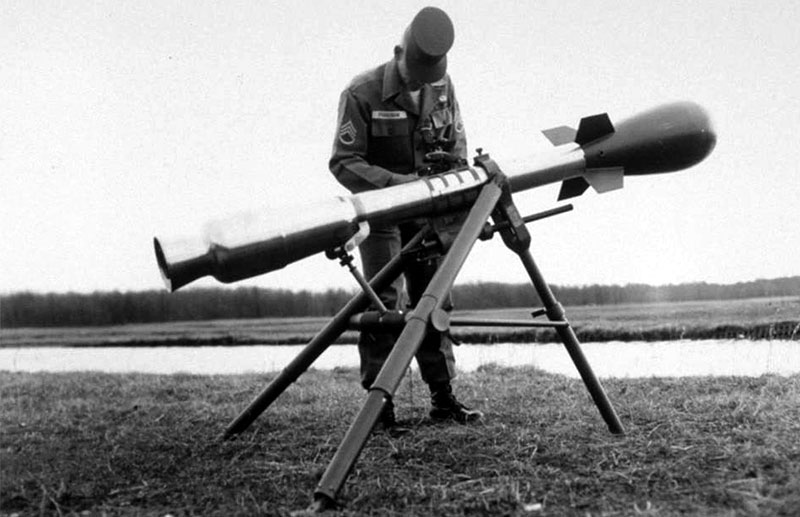 The Davy Crockett nuclear rifle