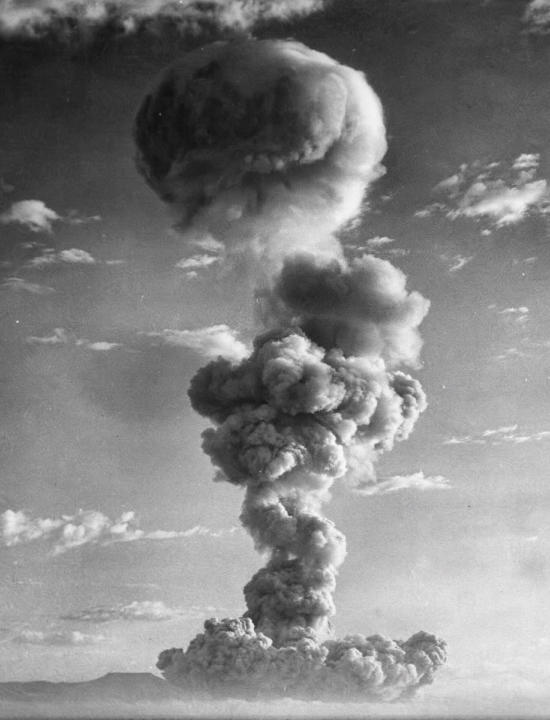Nuclear cloud smioke column