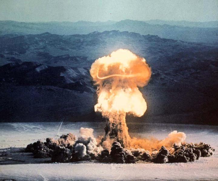 Plumbbob Priscilla nuclear test