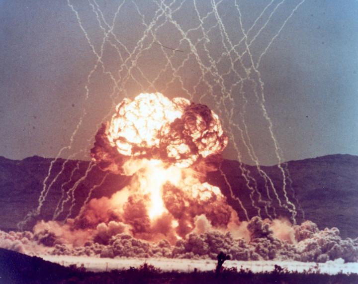 Nevada nuclear explosion