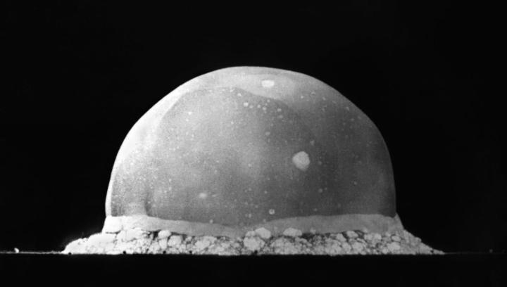 First ever nuclear explosion