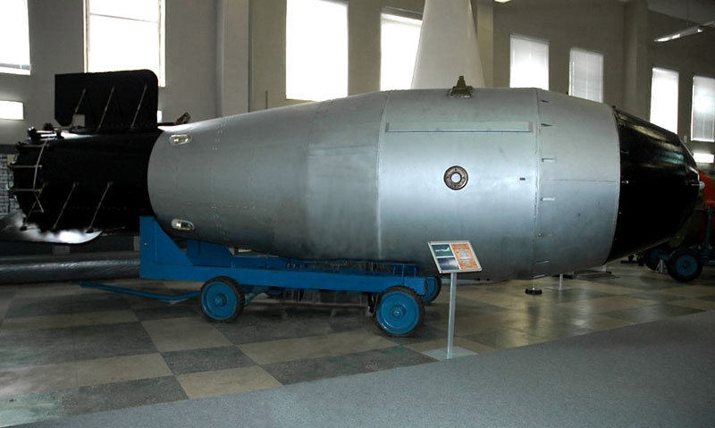 Tsar Bomba - biggest nuke ever